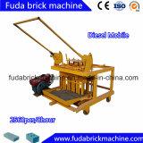 機械価格を作るQm4-45ディーゼル移動式具体的な空のブロック