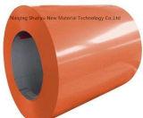 Personalizado colorido Prepaint a bobina de aço galvanizada para a folha da telhadura