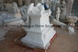 Estatua de mármol conmemorativa de piedra conmemorativa de mármol Mem-017