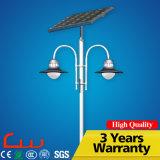 Illuminazione solare del giardino della lampada LED delle poli cellule