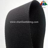 32mm faixa lateral de Nylon preto espessadas cinto
