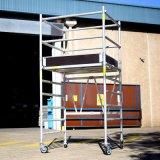 6082 Steiger van het Aluminium van de Toren van de steiger de Mobiele in het Systeem van de Steiger van het Aluminium