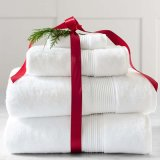 Комплект 100% полотенца подарка тавра хлопка высокого качества белый