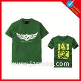 100% coton à manches courtes sérigraphié T-shirt imprimé