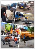 China stellen Bagger-das Fahrzeug des Abwasserkanal-4mt her, das Abwasser-Becken-LKW leert