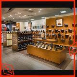 Gabinetes da prateleira de indicador do roupa interior da mercadoria do MDF para a loja
