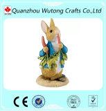 Самое лучшее украшение Figurine зайчика пасха подарков праздника весны смолаы сбывания