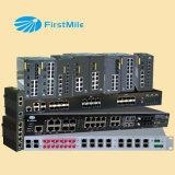 los accesos 4G+24 modularizados manejaron el interruptor industrial de Ethernet