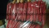 Rotes Microfiber Putztuch-kundenspezifisches Firmenzeichen-einzelne Verpackung