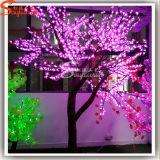 Albero artificiale del fiore della pesca del fornitore LED della Cina