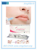 Enchimento cutâneo Injectable ácido de Singfiller Hayluronic para o realce do bordo