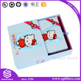 분홍색 귀여운 서류상 포장 아기 의류 선물 부대