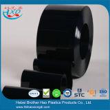 Бесплатный образец матового черного цвета толщиной 1 мм пластмассовую накладку двери шторы