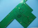 Tarjeta de circuitos impresos diseño del PWB del oro de la inmersión de 6 capas