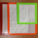Couvre-tapis réutilisable de BBQ de silicones de qualité/couvre-tapis de gril