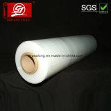 Película del abrigo de la película de estiramiento de la película 10mic-35mic LLDPE del embalaje de la paleta respetuosa del medio ambiente