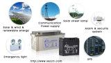 batterie rechargeable du gel 110ah pour le système solaire/vent