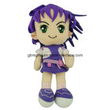 Lovely Girl Character Peluche Fabric Toys