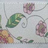 Couro floral do plutônio do Glitter para a decoração Hw-532 do pacote