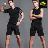 Usura 2017 di sport di usura di ginnastica dei vestiti di compressione per gli uomini