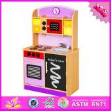 2016 crianças moda grossista cozinha de madeira Play Toy W10C112