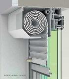 自動機能で金属ローラーシャッターを覆うOutbox