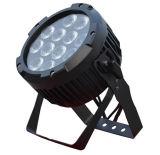 高い発電12PCS 18W IP 65 LEDの軽い値段表の平らな同価ライト