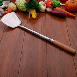 La cucina classica lavora l'acciaio inossidabile Turner degli utensili semplici