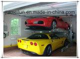 2つのポスト二重車の駐車を傾けるセリウムの公認の縦の駐車