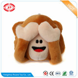 Monkey Stuffed Toy Plush Custom Magnet Travesseiro engraçado do presente dos miúdos
