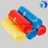 HDPE/LDPE Zakken van de Kleur van het huisvuil de Duidelijke Plastic Vlakke op Broodje