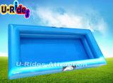 Piscina inflable del tubo doble para adultos y niños