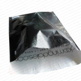 Envoltorio de poliéster negro personalizado con adhesivo de Pemanent fuerte