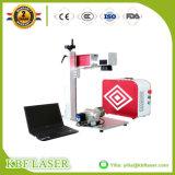 De Laser die van de Vezel 10With20With30W CNC van de Vervaardiging van China de Teller van Machines merken Ss/Al/Cu