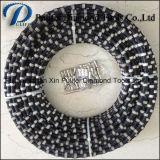 Gummisprung-sah Plastikeinspritzung-Diamant-Ausschnitt-Draht Seil für SteinConcret Ausschnitt