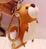 Reizender Plüsch angefülltes Eichhörnchen Keychain