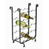 Botella amontonable del asimiento 8-20 del estante del vino del metal del alambre