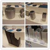 Janela perfil de alumínio CNC Porta cabeça dupla serra de corte automático