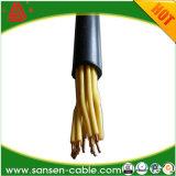 câble de commande isolé par PVC multi de la résistance LSZH du faisceau 450/750V