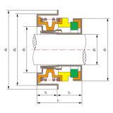 Joint de refroidissement automatique FB de pompe avec le ressort d'onde