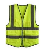 Одежда/тельняшка безопасности сетки Workwear с лентой высокой видимости отражательной