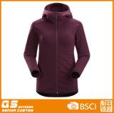 Куртка длинней втулки Powerfleece женщин теплая
