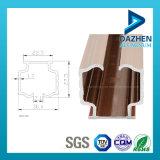 Mercado europeo modificado para requisitos particulares bronce de Chile del estilo del perfil de aluminio de la protuberancia de la pista de la cortina, mercado de Bolivia