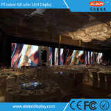 Tela video interna cheia da parede do diodo emissor de luz da cor P5 com preço de fábrica