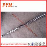 Vis et baril en plastique bimétalliques d'extrudeuse d'extrudeuse de pipe