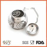 Инструмент чая стрейнера чая Infuser чая нержавеющей стали Ws-If025 для любовника чая свободных листьев