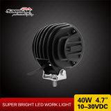 """Luz de condução do diodo emissor de luz 4WD CREE do círculo 40W impermeável 4.7 do """""""