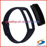 Pulsera elegante de Veryfit APP, ritmo cardíaco elegante de la pulsera