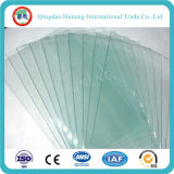 1mm de grosor el cristal/lámina transparente de vidrio, con Ce ISO