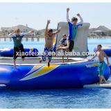 Trampolim inflável do rebote de ar da fábrica, trampolim de água da piscina